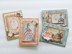 Maria Paperiah: Gilded Lily Card Kit