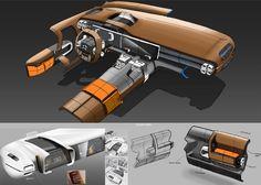 Gashetka | Transportation Design — 2015 | Citroen Aircross | Design Development:...