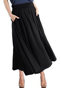 51ea353aef3 TRENDY UNITED Women s High Waist Fold Over Pocket Shirrin... https