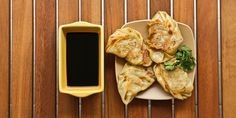 MY KOREAN KITCHEN: YAKI MANDU, Korean pork and beef dumplings