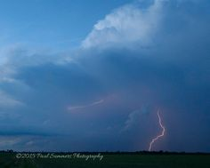 The awesome beauty and ferocity of a storm can sometimes be overwhelming. It takes a while to capture lightning when you don't have a special trigger and I was patient and lucky enough to capture this photo.