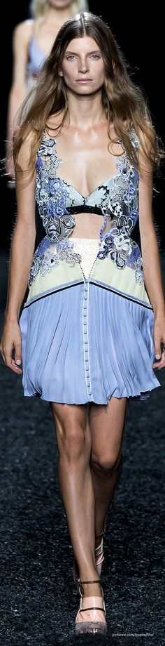 Spring 2015 Mary Katrantzou | The House of Beccaria~
