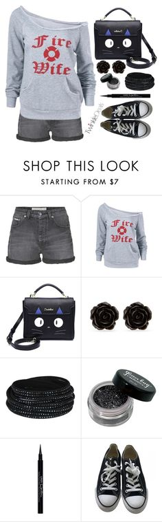 """TwinkleDeals"" by simona-altobelli ❤ liked on Polyvore featuring Calvin Klein Jeans, Erica Lyons, Givenchy and Converse"