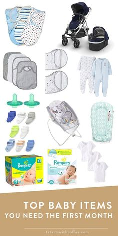 abf0ad71d3 Top Baby Items You Need The First Month - It Starts With Coffee - Blog by Neely  Moldovan - Lifestyle