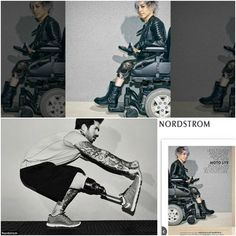 When was the last time you saw a model with a disability appear in an advertisement? It's rare indeed, but with big retailers like Nordstrom featuring models like Jillian Mercado of Manufactured1987, perhaps things will begin to change for the better for these incredible men and women.