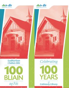 Cabinteely Library Centenary Banners.