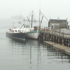 Mornings in Boothbay Harbor, Maine