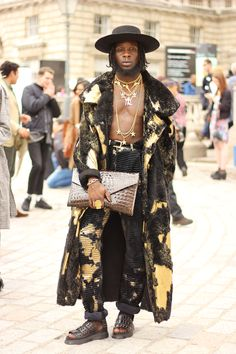 Ramario Chevoy's street style for Nicely Turned Out at London Fashion Week SS15…