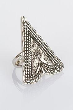 Labyrinth Amulet Ring  Silver - Spell Designs favorite-staples