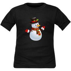 Enfants Filles Enfants Renne pain d/'épice Santa de Noël à mancherons T Shirt Top