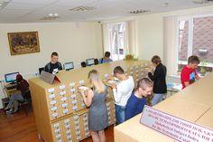 Зала каталогів у новому корпусі бібліотеки