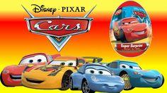 Яйца с сюрпризом Киндер сюрпризы Тачки 2 Disney Pixar Surprise Eggs Cars...