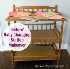 Before & After: Changing Table