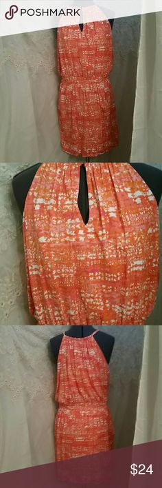 FLASH SALE NWT BEAUTIFUL CYNTHIA ROWLEY DRESS This adorable dress is in excellent condition never been wore. Wrap at the waist to the hem.  Keyhole opening in the front. Cynthia Rowley Dresses
