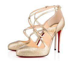 Women Shoes - Soustelissimo Laminato Animal - Christian Louboutin