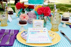 We have an abundance of bright candy colours and delicous treats you can feast your eyes on right here with this gorgeous vintage summer carnival wedding theme inspiration. Description from lovewedbliss.com. I searched for this on bing.com/images