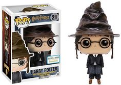 x Harry Potter - Harry w/ Sorting Hat - Barnes & Noble Exclusive! In collaboration with Warner Bros, Funko brings you this exclusive Harry Potter POP! 1 x Harry Potter - Harry w/ Sorting Hat (BN Exclusive / Harry Potter Quidditch, Harry Potter Sombrero, Figurine Pop Harry Potter, Harry Potter Pop Figures, Harry Potter Pop Vinyl, Objet Harry Potter, Harry Potter Sorting Hat, Funko Harry Potter, A Wrinkle In Time