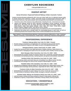 10 makeup artist resume examples sample resumes sample resumes pinterest artist resume. Black Bedroom Furniture Sets. Home Design Ideas