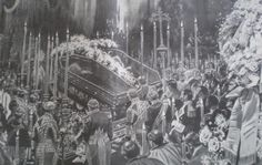Funerals of King Carlos I of Portugal and Crown Prince Luis Felipe. Feb 1908