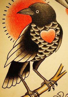 Crow by QD
