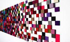 """Acoustic Couture Acoustic Couture I Mauerkunstwerke aus  naturwollenem Filzrelief Jeder Raum ist einzigartig und fordert Einzigartigkeit. Acoustic Couture fügt Wärme und Athmosphäre  hinzu . Dadurch gewinnt das """"Normale"""" an Farbe und wird angenehm und spannend."""