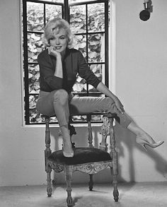 Marilyn Monroe photographed by Allan Grant. Last Interview for Life Magazine. July, 1962.