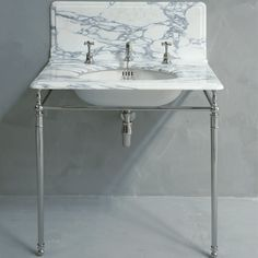 Vintage style console sink and wash hand basins