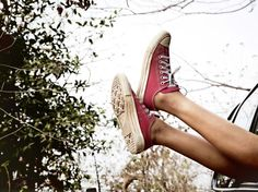 Wallpaper of Converse for fans of Converse 27694726 Red Converse, Converse Sneakers, Converse All Star, High Top Sneakers, Converse Wallpaper, Sneakers Wallpaper, Women's Feet, Red Shoes, Chuck Taylor Sneakers