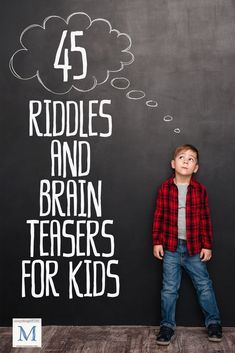 Riddles and Brain Teasers for Kids! Dinner table or long car ride? Enjoy these funny riddles and wacky brain teasers for kids. The perfect read-aloud list for parents & kids, plus links to more!
