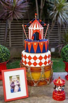 Festa Infantil Circo Vintage | 1 anos do Pedro {Fotografia: Carla D'aqui}