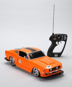 Take a look at this Orange u002767 Ford Mustang GT Radio Control Car by Remote & 1:24 Maisto Audi R8 V10 2009 Model Blue Remote Control Car by ... markmcfarlin.com