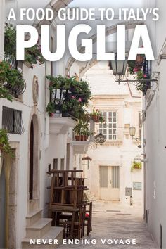 Puglia in Italy is a beautiful region but it's also one of the best places for Italian food! Here's a guide to eating and drinking in Puglia. Best Places To Eat, Best Places To Travel, Cool Places To Visit, Italy Travel Tips, Europe Travel Guide, Travel Guides, Travel Destinations, Holiday Destinations, Bari