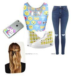 """emoji&unicorn"" by mk-morgan ❤ liked on Polyvore featuring Natasha Accessories"