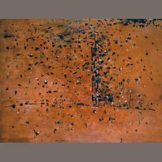 Fred Williams You Yangs landscape 1 1963 signed 'Fred Williams'… Contemporary Landscape, Abstract Landscape, Landscape Paintings, Abstract Art, Landscapes, Modern Art Artists, New Artists, Australian Painting, Australian Artists