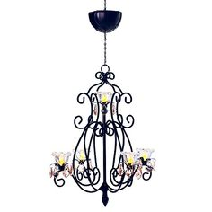 Battery-Operated Layni Chandelier