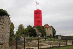 2012 Sparrenburg verhüllt