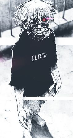 Tokyo Ghoul by txGlitch