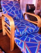 Art Deco modernist armchair