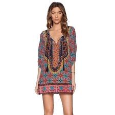 JUST IN: Fashion Women Clothing Casual Loose Vintage National Style Long Sleeve Dress just $13,09  #BetubidAuctions