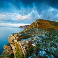 Photographer Andy Farrer took this stunning photo of the Valley of the Rocks on the #Exmoor coast, just a few miles away from Lynton. http://wp.me/p30uO4-G6 #travel #England