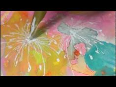 A New Day -whimsical mixed media painting by WYANNE - YouTube