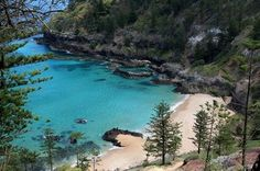 Norfolk Island, South Pacific - one of the most beautiful places on earth Norfolk Pine, Wake Island, Islands In The Pacific, Norfolk Island, Marshall Islands, Small Island, Cook Islands, South Pacific, Places To Travel