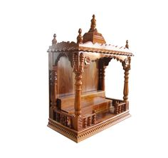 Bon Buy Wooden Pooja Mandirs For Home Online In India At Afydecor. Check Out  The Best Designed Pooja Chowkis, Cabinets U0026 Wall Mounted Wooden Temples At  Best ...