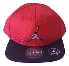 16bcc85b581 ... coupon for infant boys air jordan hat red black elephant print youth  size 8 20 adjustable ...