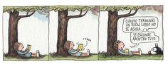 """Buenos días. """"Cuando terminas un buen libro, no se acaba. Se esconde adentro tuyo"""" :´)  (Imagen y frase: @porliniers) pic.twitter.com/22pXu984KZ"""