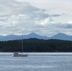 Beautiful Galiano. #explorebc @hellobc @southerngulfislands @galianoisland #westcoast #westcoastlifestyle #sailboat #ocean #galiano #sailing #nofilter