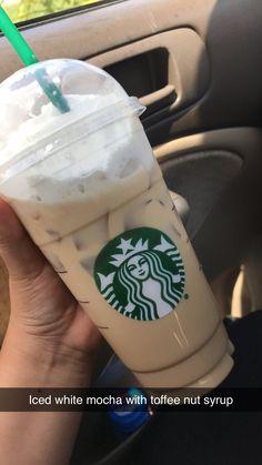 Starbucks Hacks, Healthy Starbucks Drinks, Starbucks Secret Menu Drinks, Starbucks Coffee, Healthy Drinks, Starbucks Order, Dessert Drinks, Yummy Drinks, Desserts