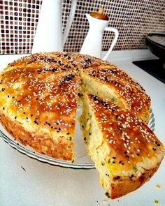 Turkish Breakfast, What's For Breakfast, Bread Recipes, My Recipes, Cooking Recipes, Greek Cooking, Cooking Time, Tea Time Snacks, Salty Cake