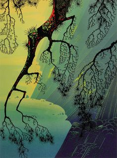 Eyvind Earle Fog-Mist-1996 Consider your composition and use of light