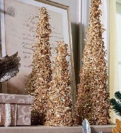 add a touch of tinsel to your home with these icicle trees find this pin and more on valerie parr hill qvc
